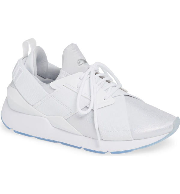 269c5e08af5 Women's Muse Ice Low-Top Sneakers in Puma White/ Puma White
