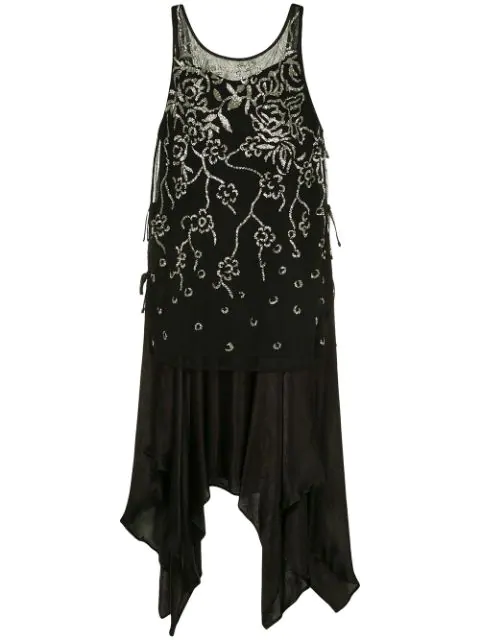 Muller Of Yoshiokubo Gatsby Dress In Black