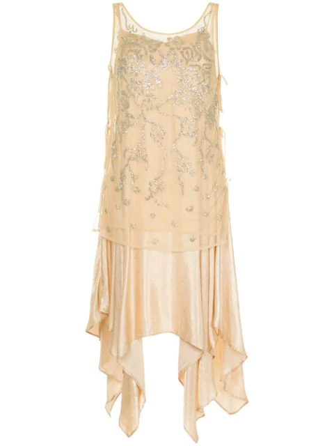 Muller Of Yoshiokubo Gatsby Dress In Neutrals
