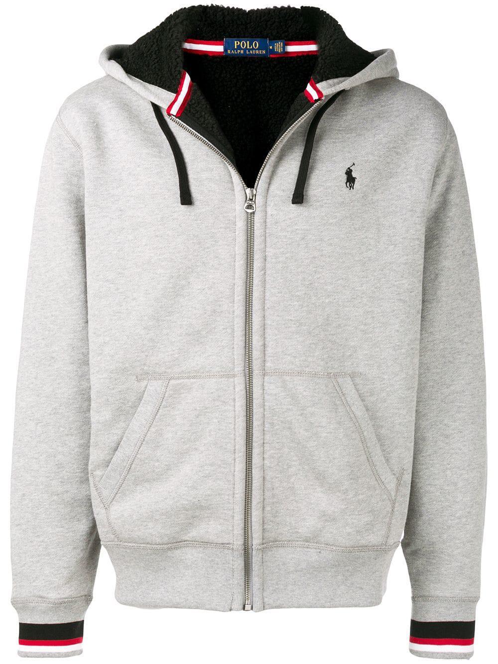 e90971cd8 Polo Ralph Lauren Zip Hoodie - Grey