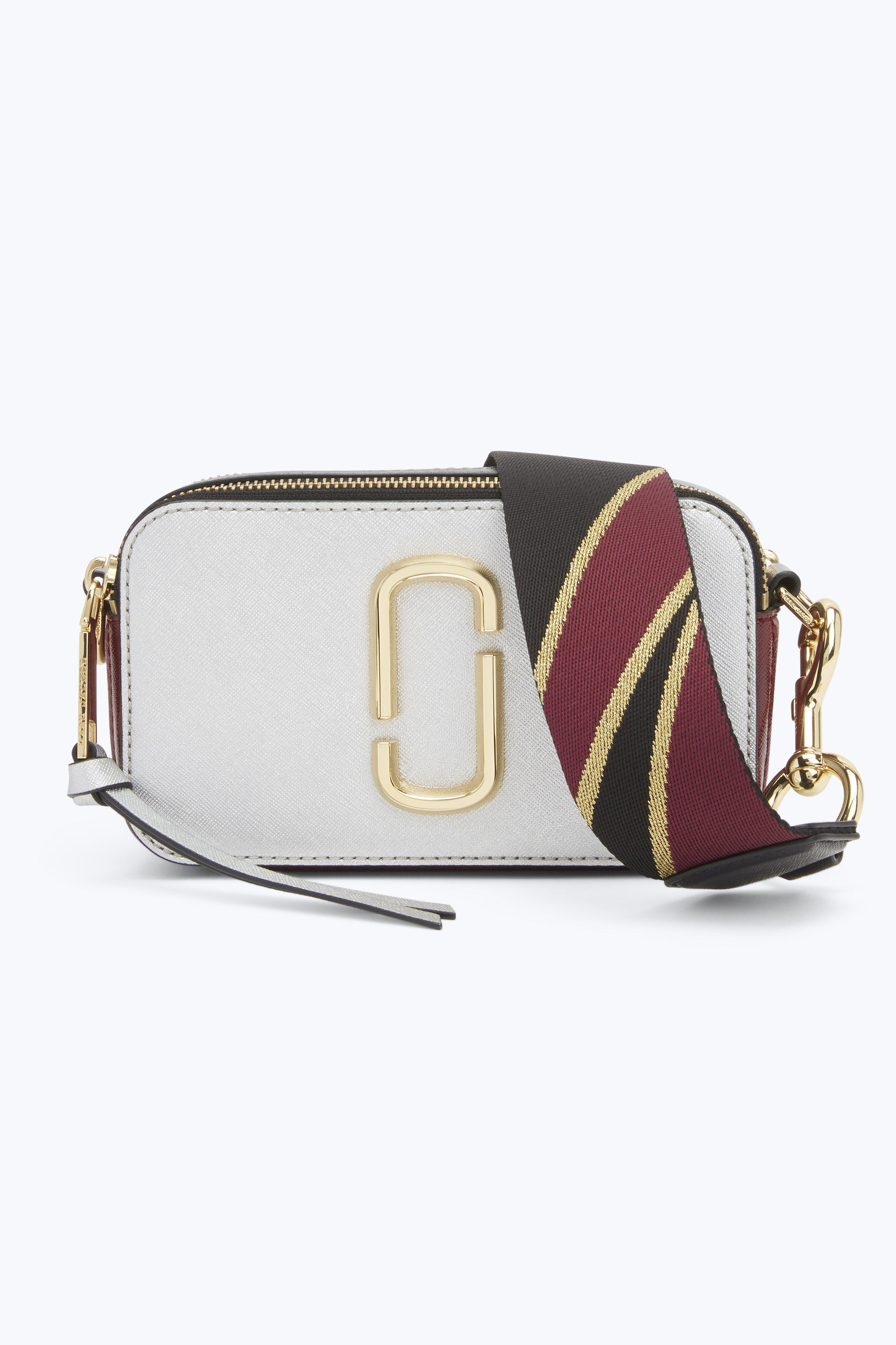 8ebea2f5a53d Marc Jacobs Snapshot Small Camera Bag In Silver Multi