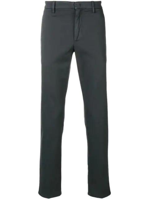 Dondup Straight-leg Trousers - Grey