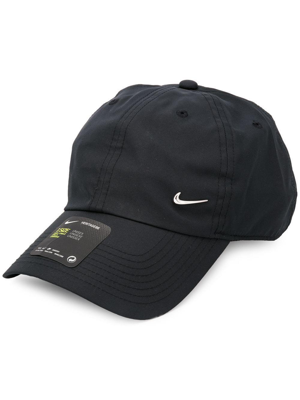 Nike Metal Swoosh H86 Cap In Black