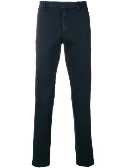 Dondup Straight-leg Trousers - Blue