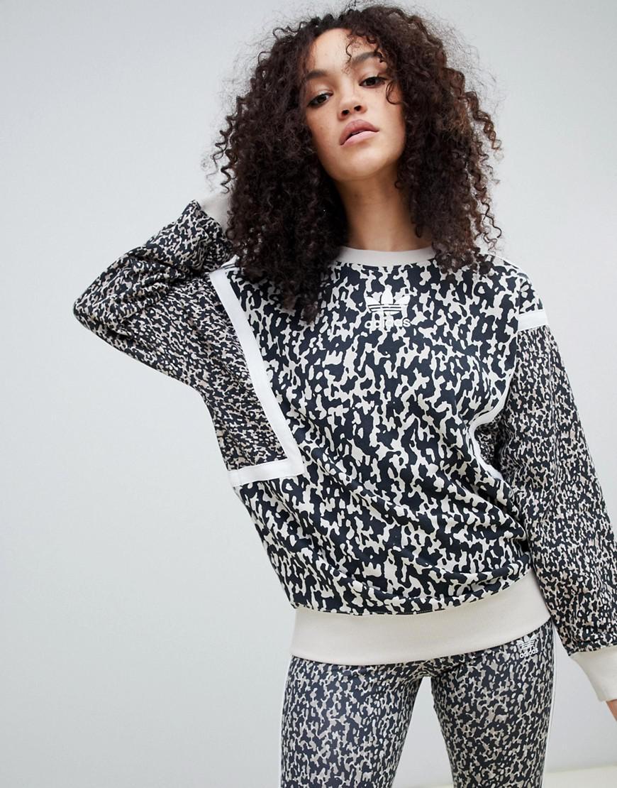 Adidas Originals Leoflage Printed Sweatshirt Multi