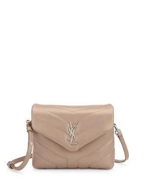 84d73fd70805 Saint Laurent Toy Lou Lou Shoulder Bag In Mink