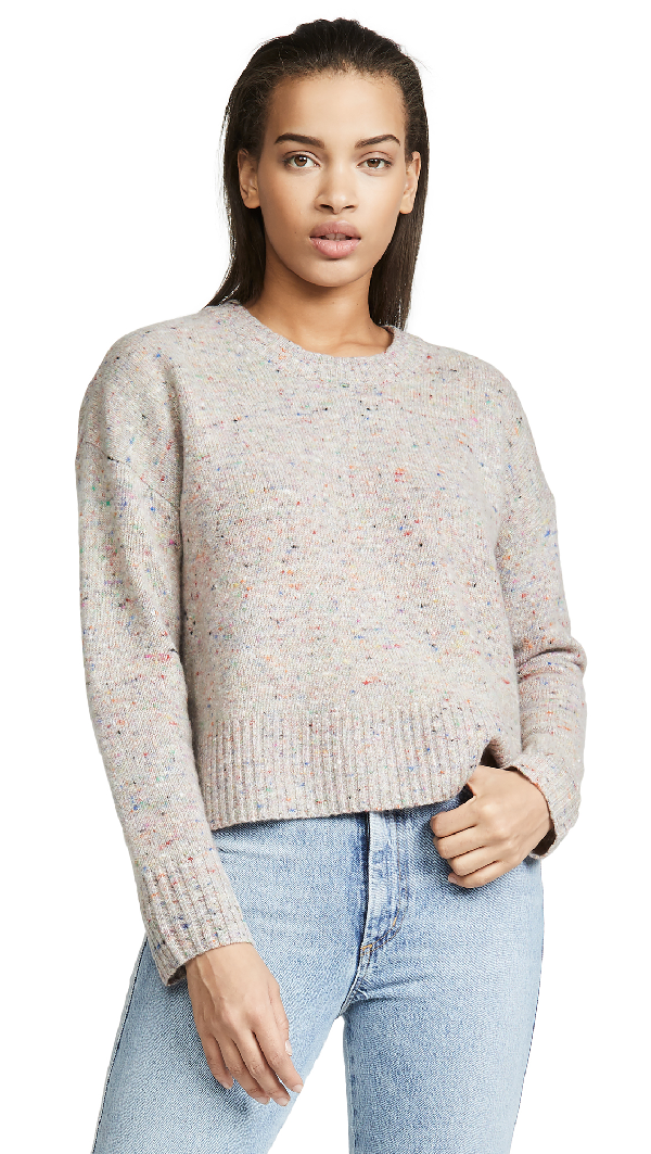 A.L.C Emmeline Lambswool & Cashmere Blend Sweater In Multicolor