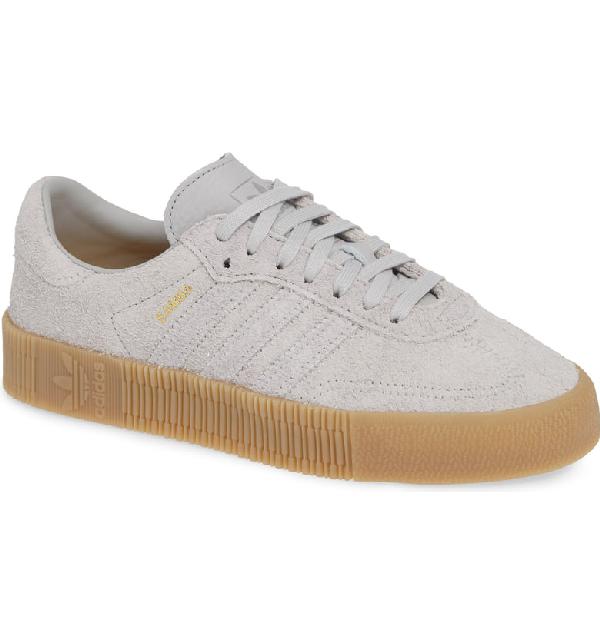 e1b2937835ac Adidas Originals Samba Rose Sneaker In Grey Two  Grey Two  Gum ...