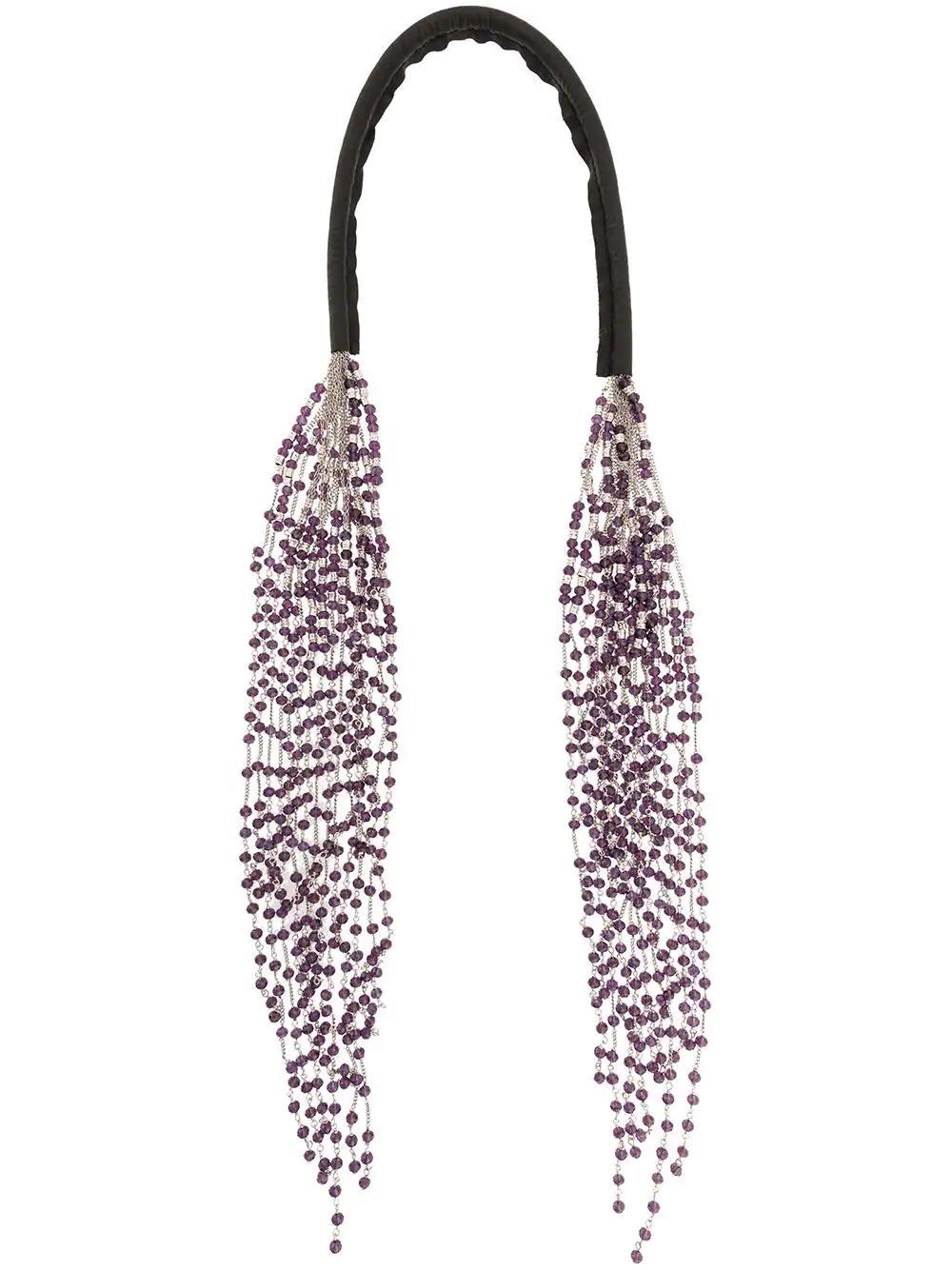 Marc Le Bihan Cascading Necklace - Silver