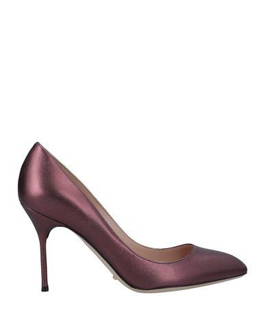 Sergio Rossi Pump In Deep Purple