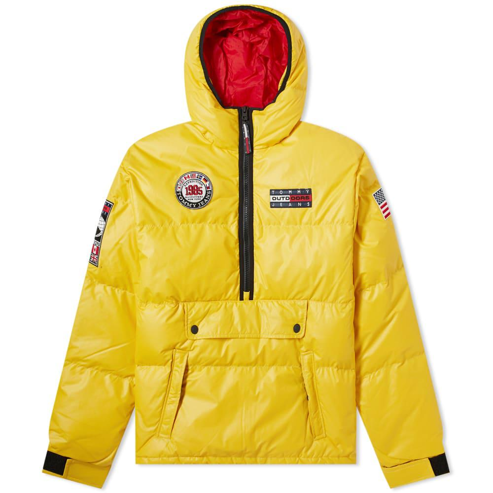 69b9b9d1 Tommy Jeans 6.0 Popover Puffer Jacket M1 In Yellow | ModeSens