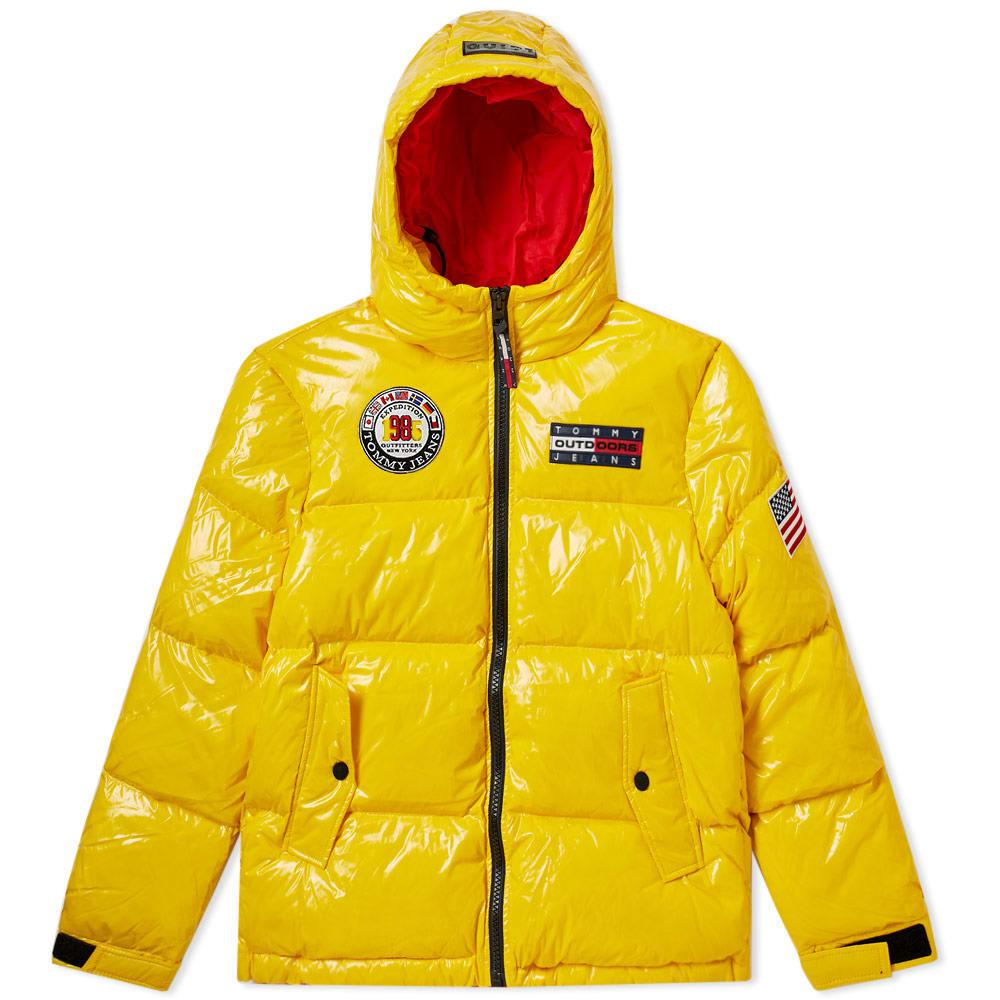 eadf3122 Tommy Jeans 6.0 Women's Puffer Jacket W2 In Yellow | ModeSens