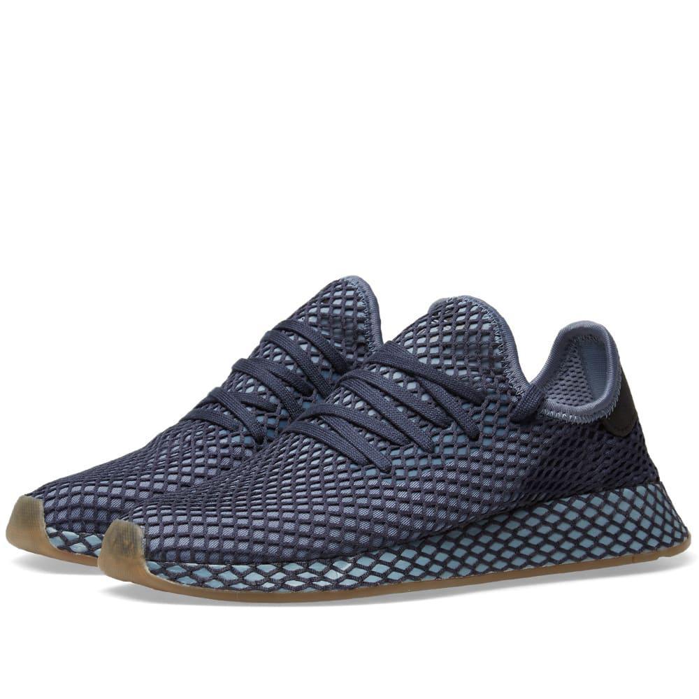 0ad9e940f6b92 Adidas Originals Adidas Deerupt Runner In Blue