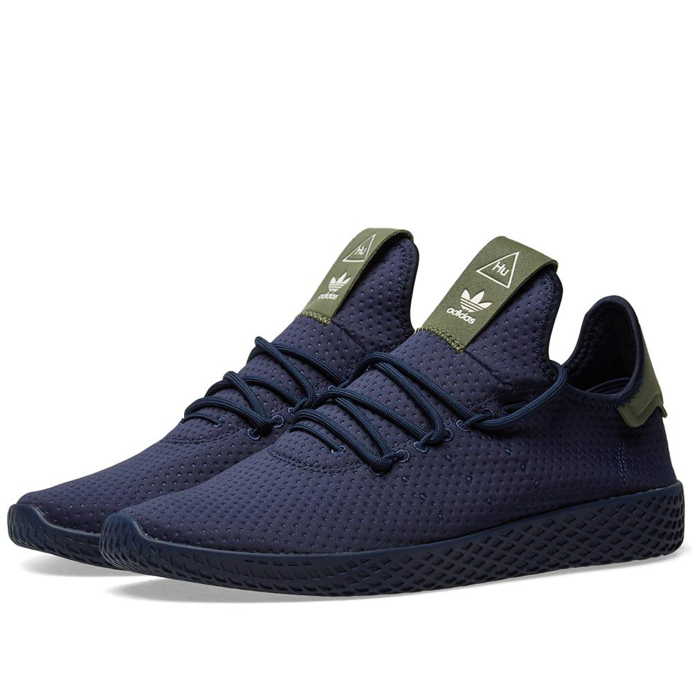 5125f683d91d6 Adidas Originals Adidas X Pharrell Williams Tennis Hu In Blue