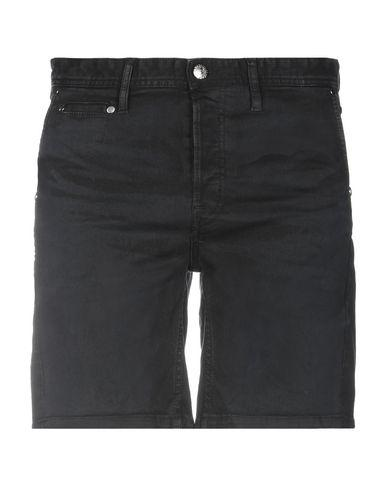 Just Cavalli Denim Shorts In Black
