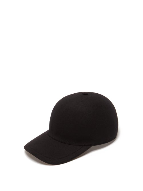 1370f8b18 Men's Molded Wool Baseball Cap in Black