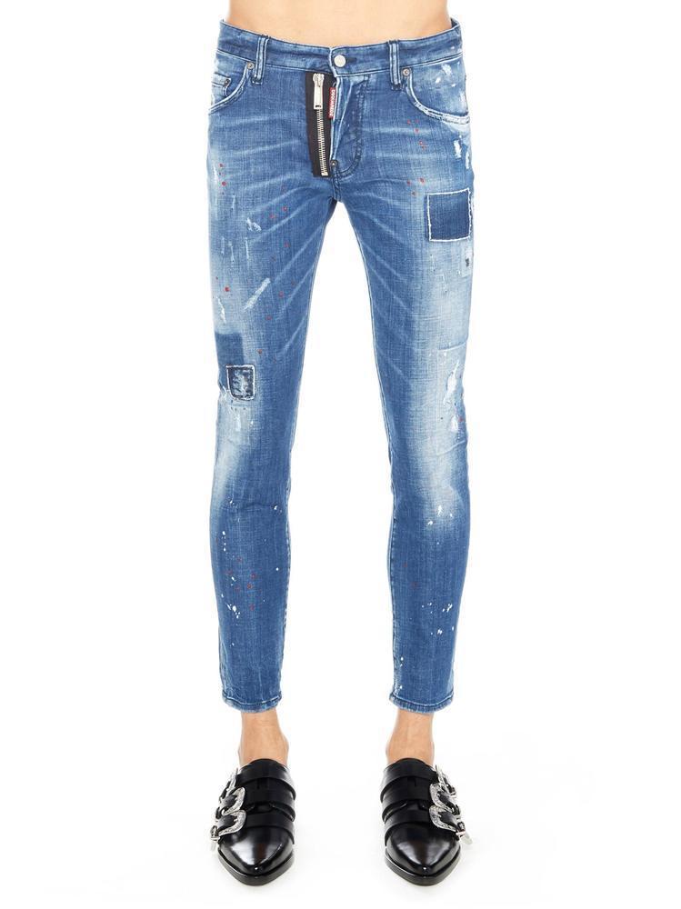 45d587c6 Dsquared2 Skater Jeans In Blue | ModeSens
