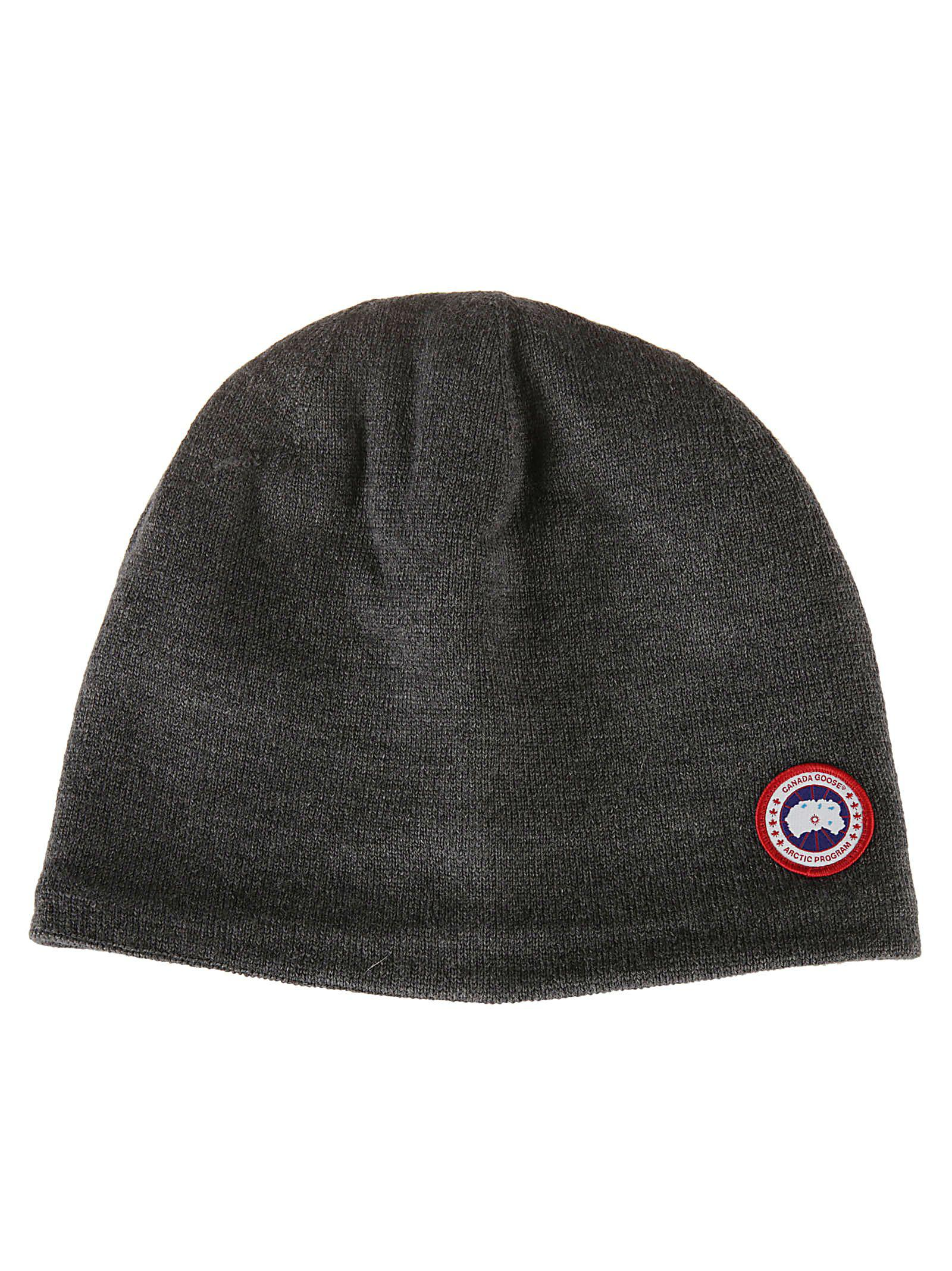 3213d0a0c4b500 Canada Goose Standard Toque Beanie In Iron Grey | ModeSens