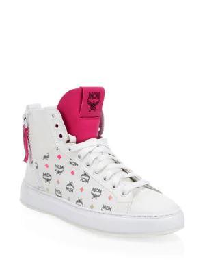 f56539a5cb0 Spektrum Visetos Mid-Top Sneakers in White