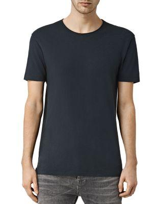 Allsaints Figure Tee In Jet Black