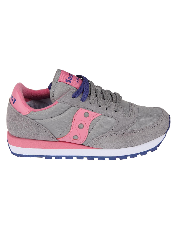 timeless design 25cab c5d7e Jazz Original Sneakers in Grey Pink
