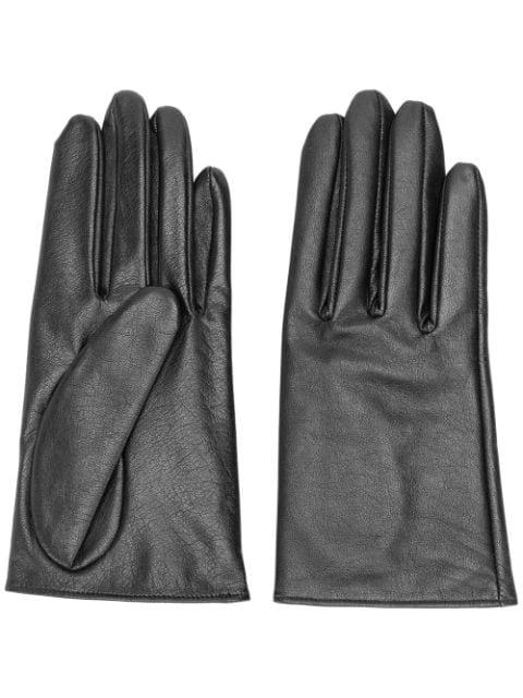 Yohji Yamamoto Classic Gloves In Black