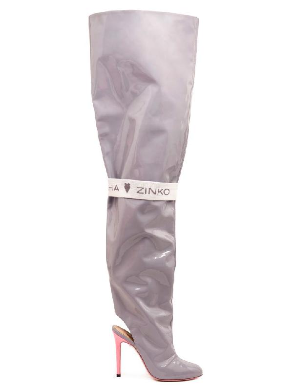 Natasha Zinko Shoes In Grey