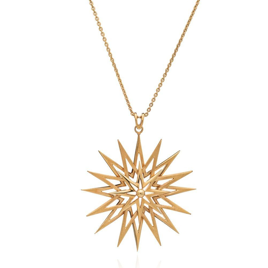 Rachel Jackson London Rockstar Statement Necklace In Gold