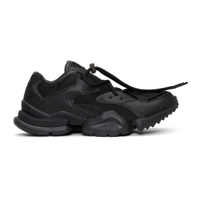 4f895d100883a Reebok Classics Black Run.R 96 Sneakers In Black Gold