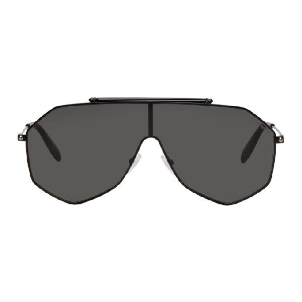 04bfc9e034ef Alexander Mcqueen Piercing Frame In Black   ModeSens