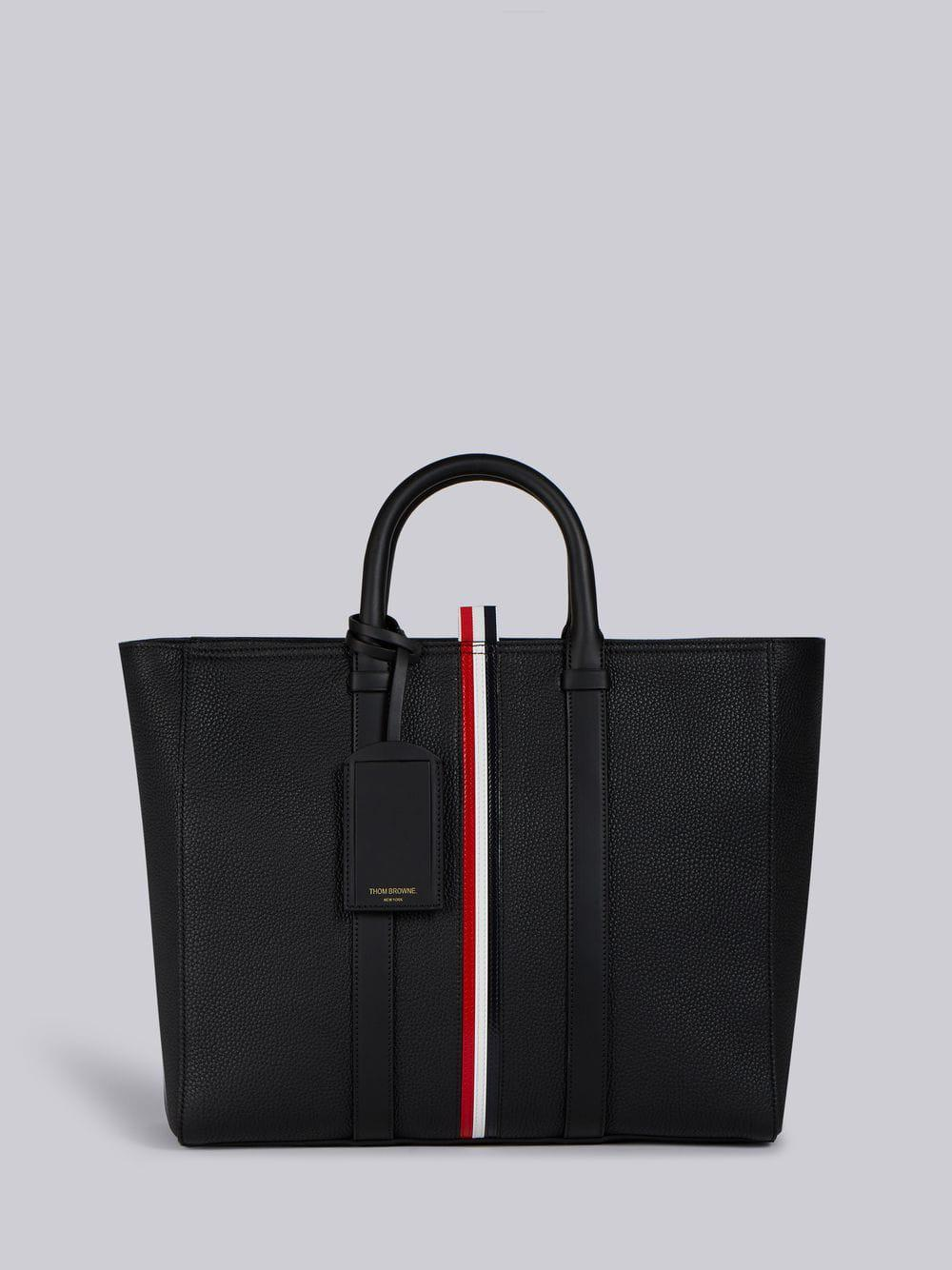 Thom Browne Handbag In Black