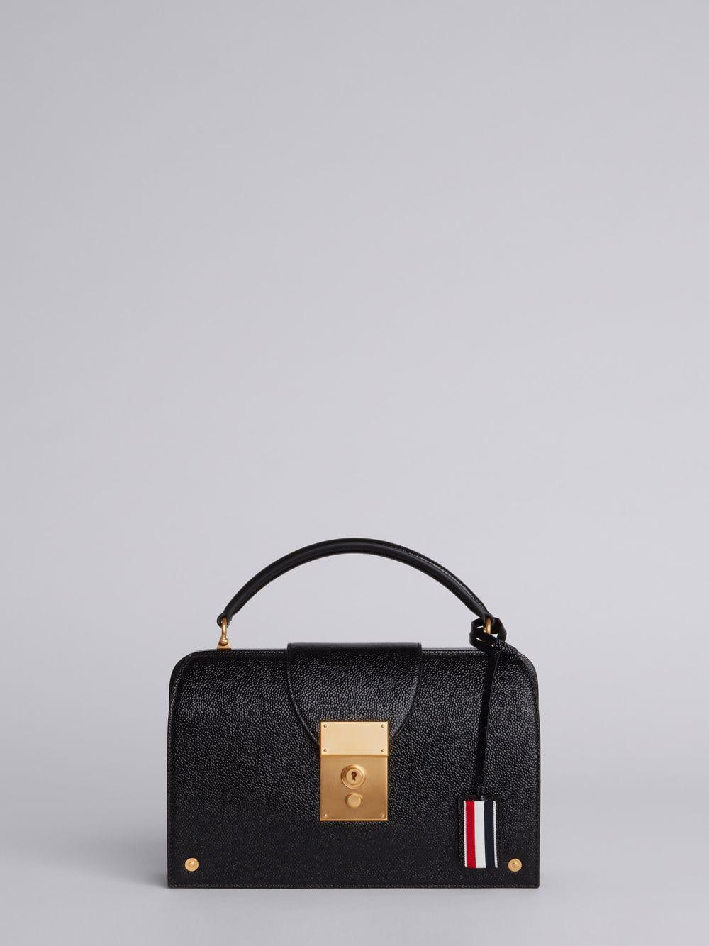 Thom Browne Mrs. Thom Lucido Feather Pocketbook In Black
