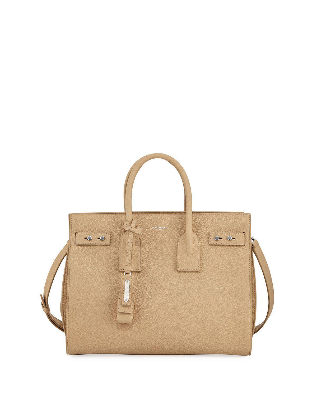 a70be8a6a2c Saint Laurent Sac De Jour Small Supple Leather Bag In Neutral   ModeSens