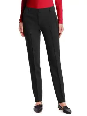 Akris Punto Women's Fabia Tapered Jersey Pants In Black