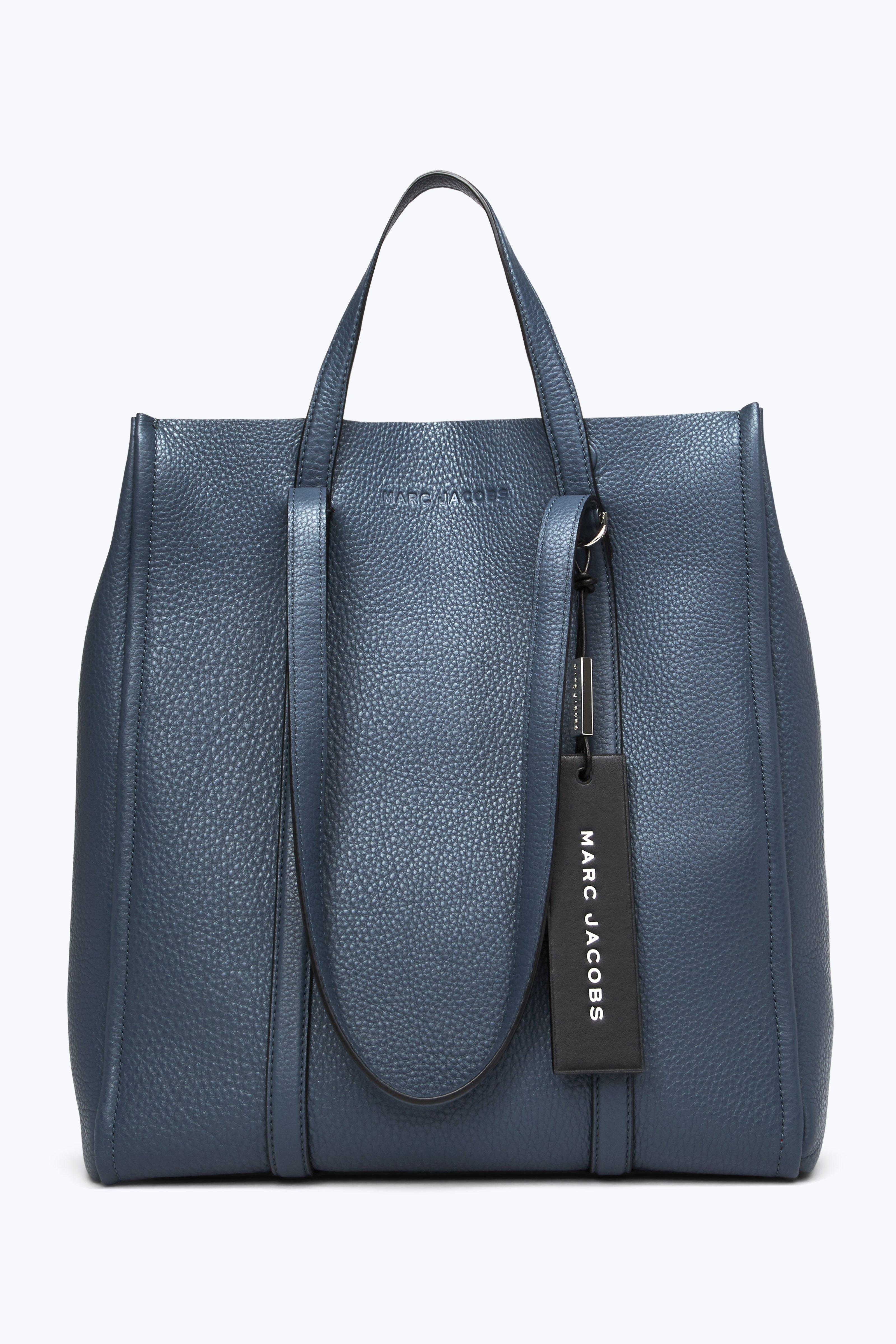 478f4b484f79 Marc Jacobs The Oversized Tag Tote In Nightshade Grey