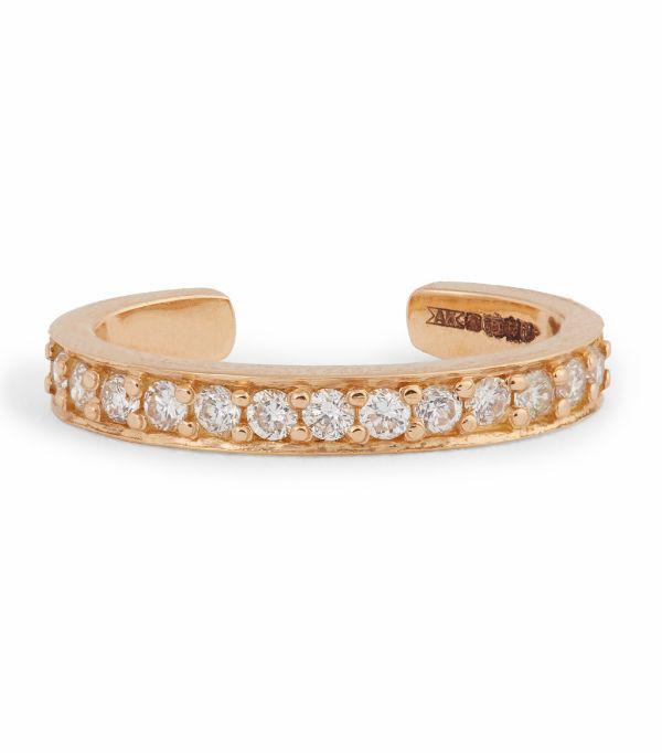 Anita Ko Rose Gold And Diamond Ear Cuff