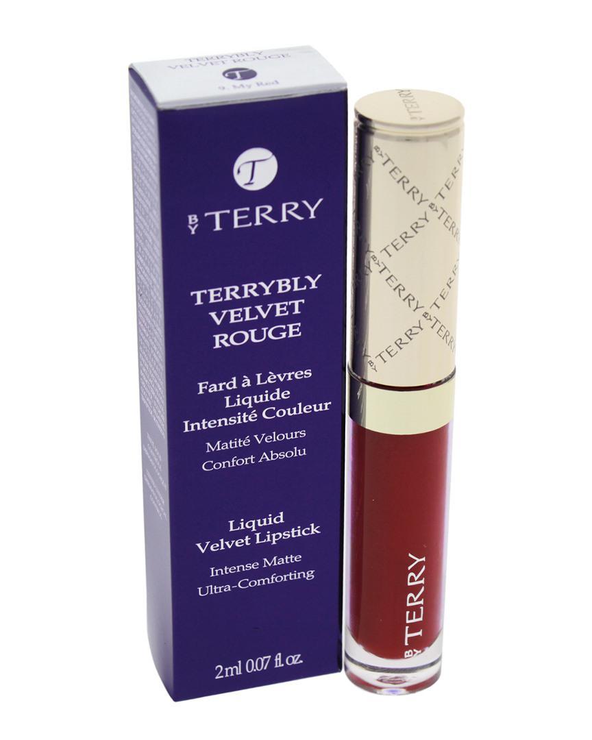 Velvet Liquid Lipsticks Kylie Cosmetics: By Terry 0.07Oz #9 My Red Terrybly Velvet Rouge Liquid