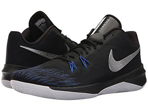 392779fea1a Zoom Evidence Ii, Black/Metallic Silver/Game Royal/White