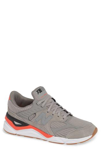 X 90 Sneaker in Marblehead Suede Textile