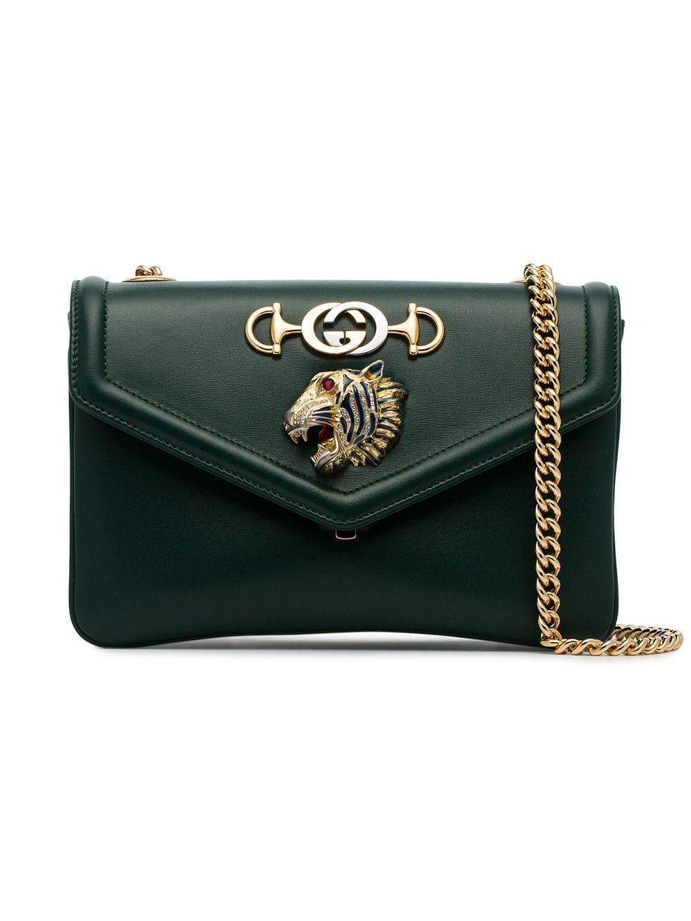 af19d7835 Gucci Rajah Medium Shoulder Bag - Farfetch In Black | ModeSens