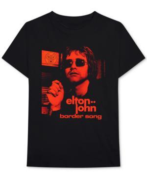 0b66aa801 Bravado Elton John Border Song Men's Graphic T-Shirt In Black | ModeSens