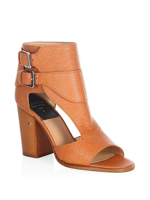 Laurence Dacade Deric Leather Sandals In Camel