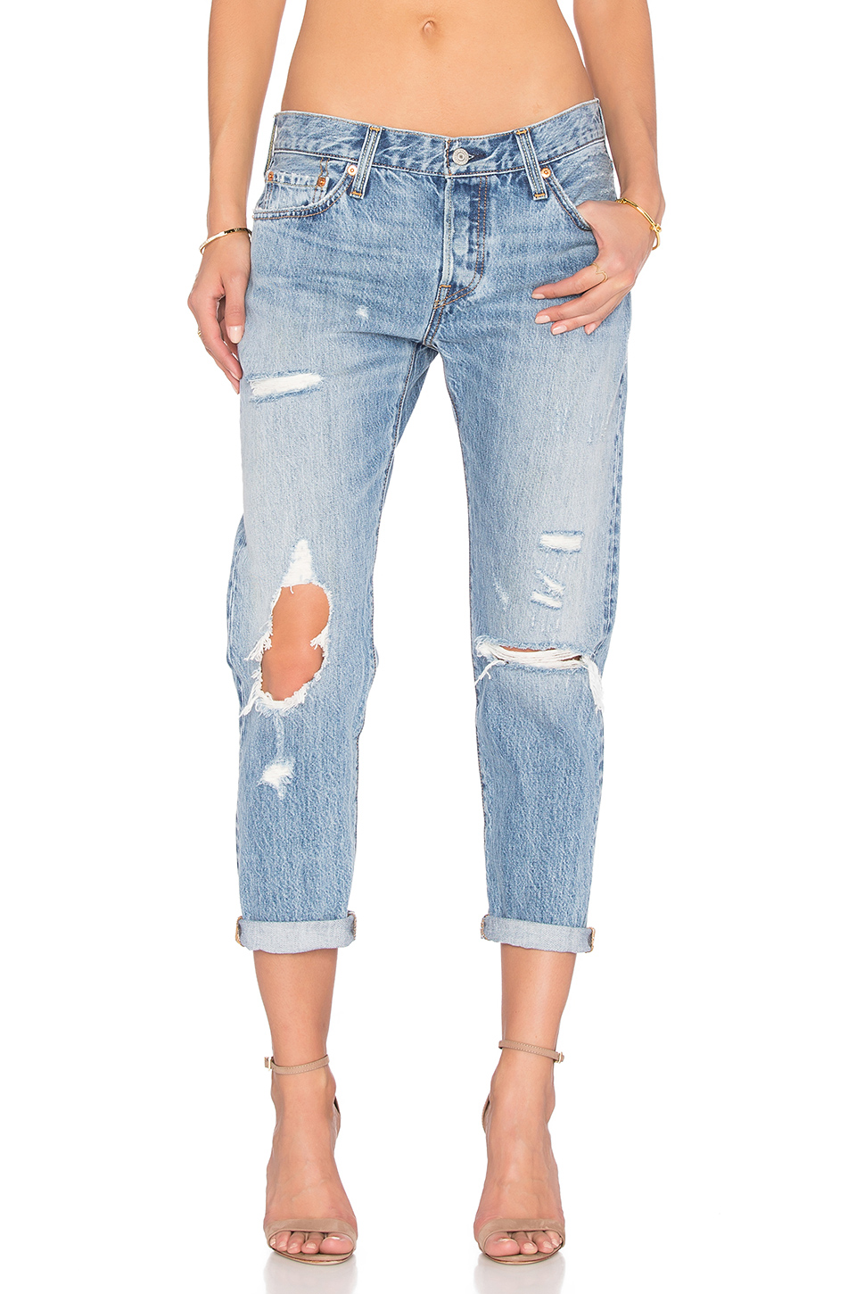 19a36f21 Levi's 501 Skinny Jeans In Old Hangouts In Time Gone By | ModeSens