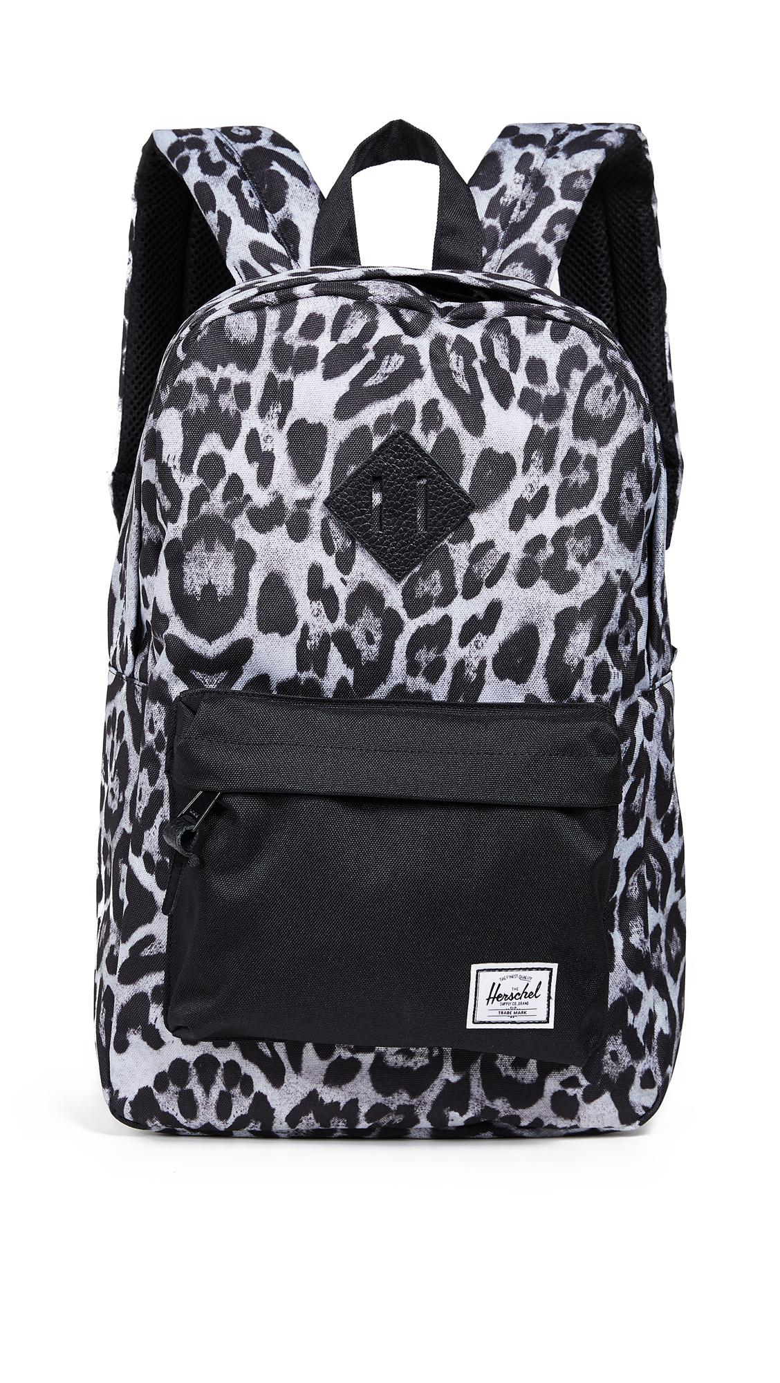 092991847e Herschel Supply Co. Heritage Mid Volume Backpack In Snow Leopard Black
