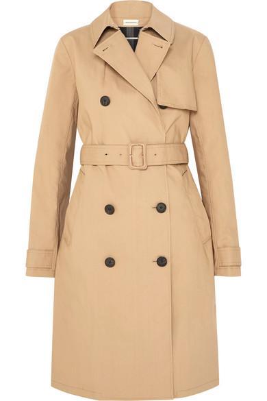 5c9a843ff35 By Malene Birger Rainie Cotton-Gabardine Trench Coat In Beige