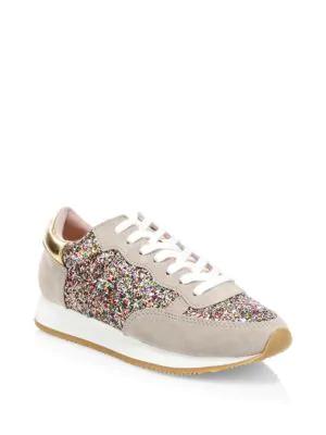 8b270b26bc6a Kate Spade Felicia Glitter Sneakers In Multi
