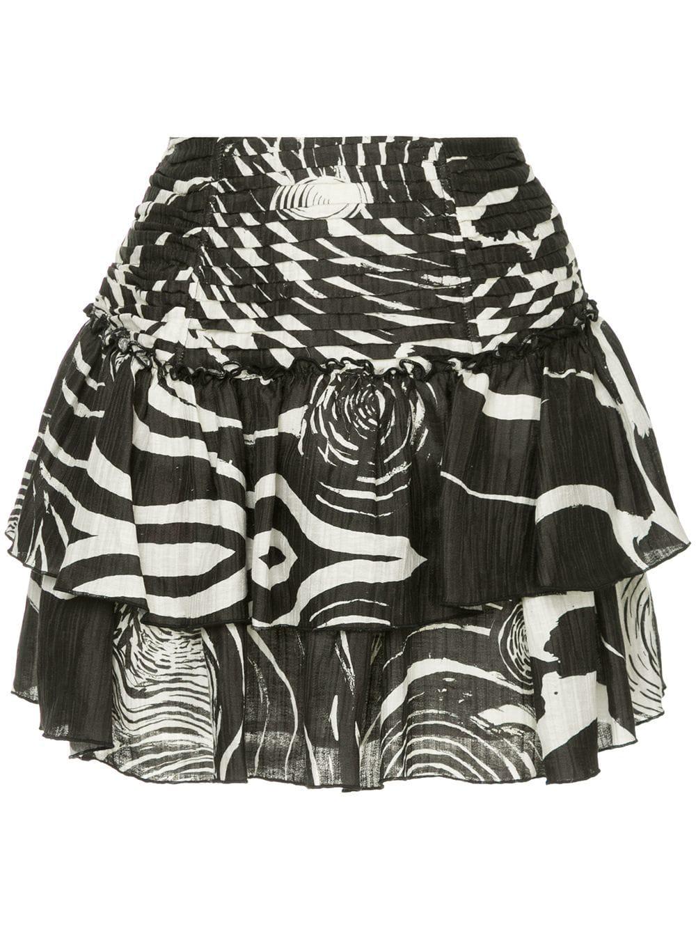 3cf95f9c26 Select Size. Store Status Price. Aje Violet Mini Skirt In White