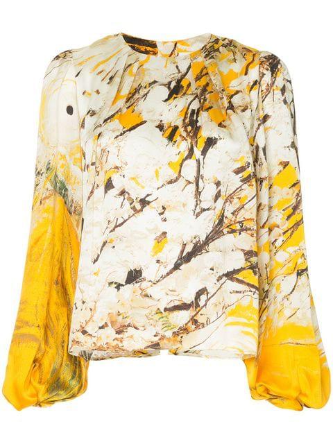 Aje Thurlow Blouse - Multicolour