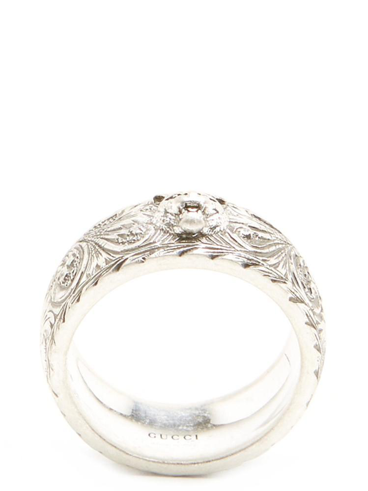 f394a1656 Gucci Feline Head Ring In Silver | ModeSens