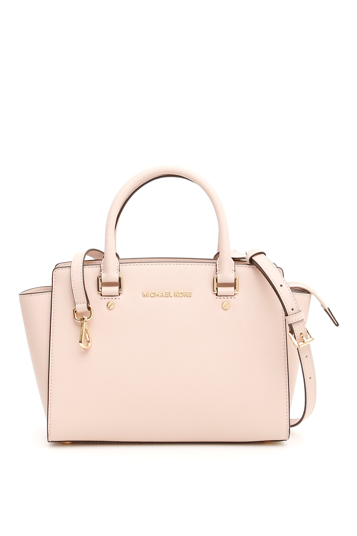 9f7d41b7fbc7 Michael Michael Kors Selma Medium Tote In Blush | ModeSens